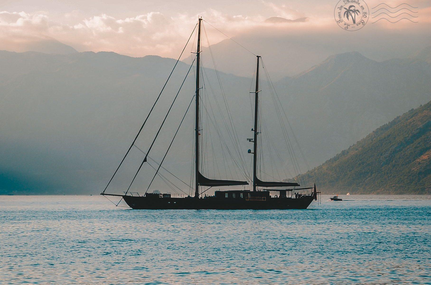 Découvrir le Monténégro en voilier